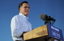 Romney campaign: Hurricane Sandy to freeze race in place