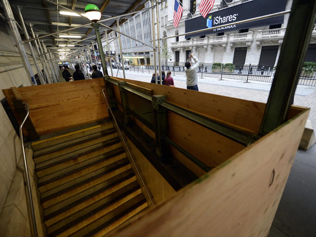 What Sandy did to Wall Street