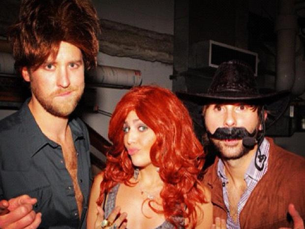 Stars' Halloween costumes 2012