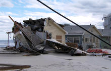 Surveying the damage along New Jersey's coast