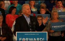 """Biden: Romney Jeep ad an """"outrageous lie"""""""