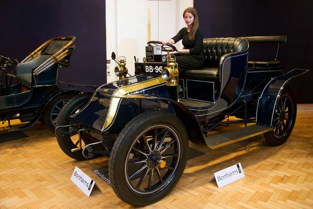 Oldest surviving vauxhall motor car