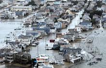 Devastation in Long Beach Island, N.J.