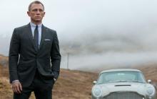 "James Bond's Aston Martin DB5 in ""Skyfall"""