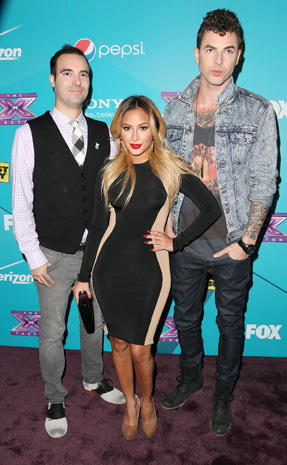 """The X Factor"" finalists' party"