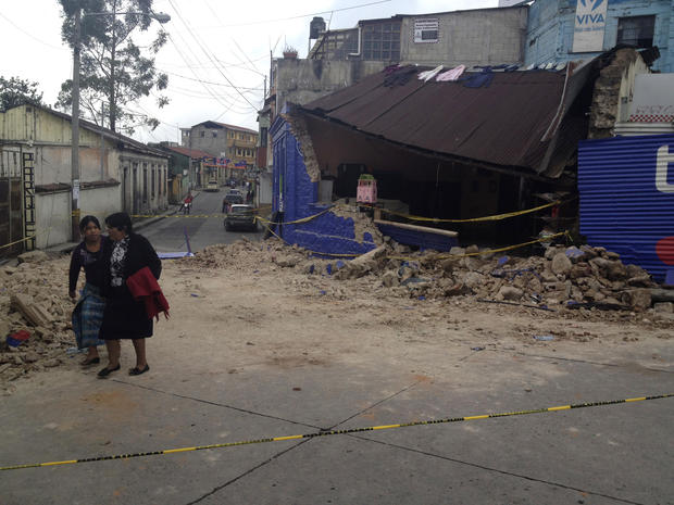 7.4-magnitude earthquake strikes Guatemala