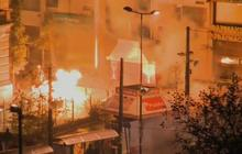 Watch: Greece erupts in violent protests