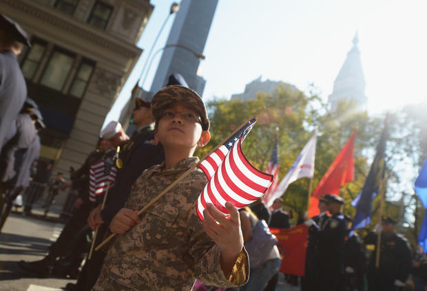 Veteran's Day parade held in NY