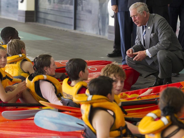 Prince Charles and Camilla in New Zealand