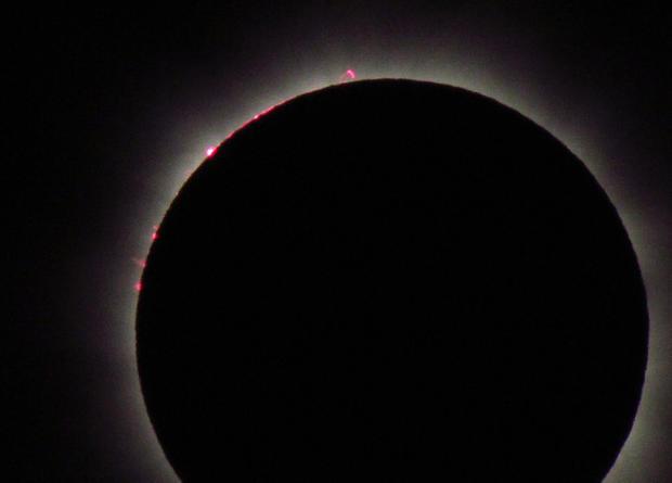 Solar eclipse in Australia