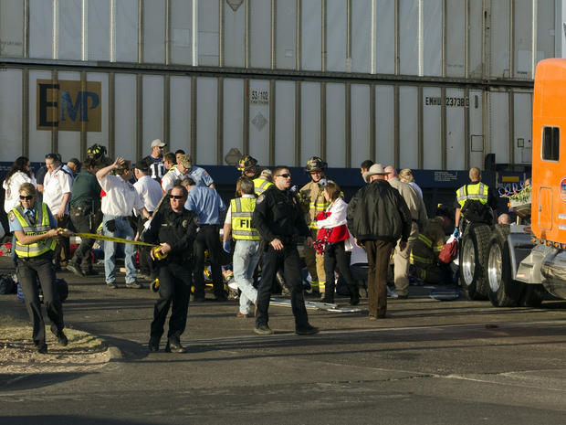 West Texas veterans parade crash
