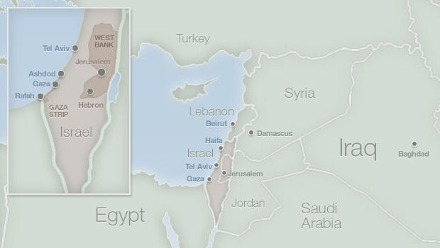 Tel Aviv Middle East Map.Israel Bus Blown Up Shelling Of Gaza Continues As Clinton Keeps Up