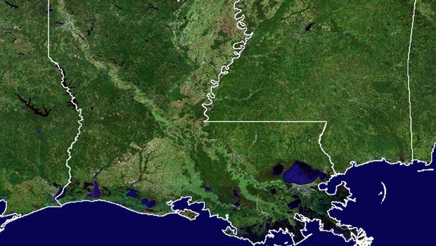 Gas leak off Louisiana coast forces rig evacuation CBS News