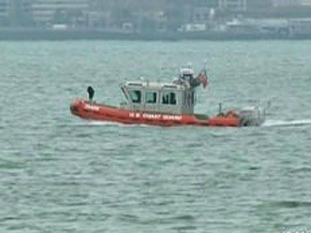 Coast Guard boat in San Francisco Bay