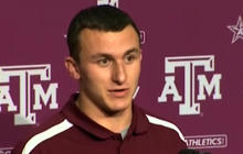 "Texas A&M Heisman hopeful, ""Johnny Football"""