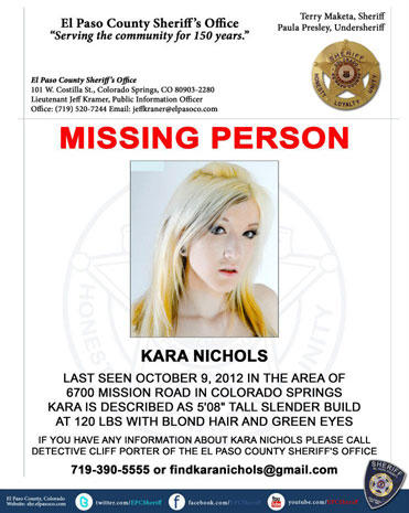 Teen model missing in Colorado