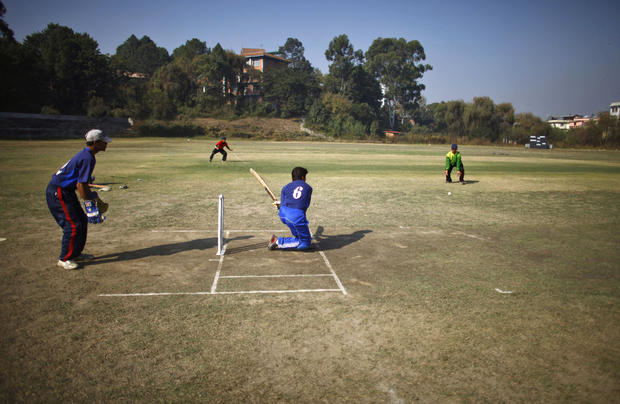 How the blind play cricket