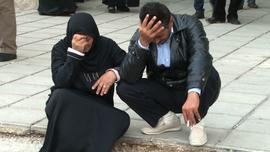 The mother and brother of Adnan Saad cry upon hearing of his death.
