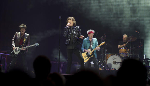 The Rolling Stones hit NYC