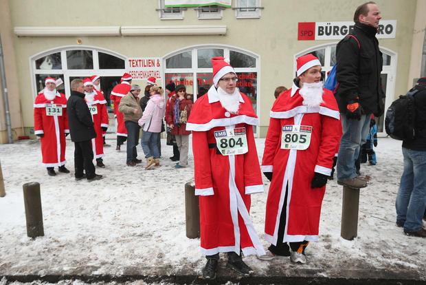 The Great Santa Run