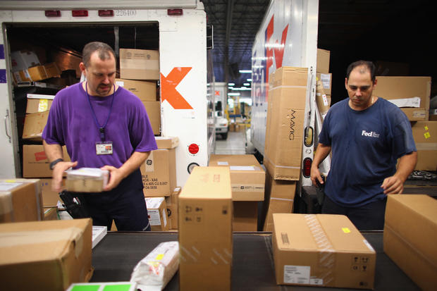 """Busiest day"" in FedEx history"