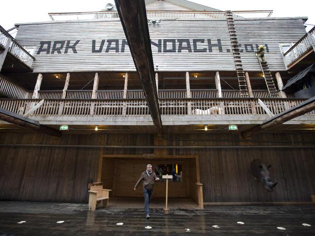 Full-size replica of Noah's Ark