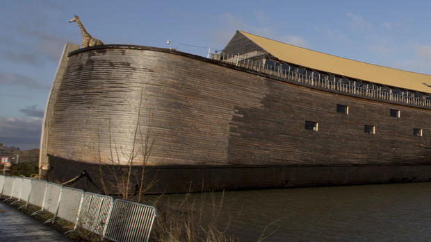 Guided by God and Disney, life-size ark rises in Kentucky
