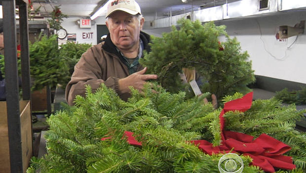 Non-profit Wreaths Across America began when Maine businessman Morrill Worcester laid surplus wreaths at Arlington National Cemetery in 1992.