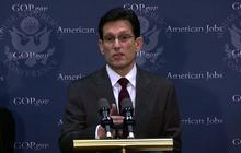 """Cantor: We'll work through Christmas to avert """"fiscal cliff"""""""