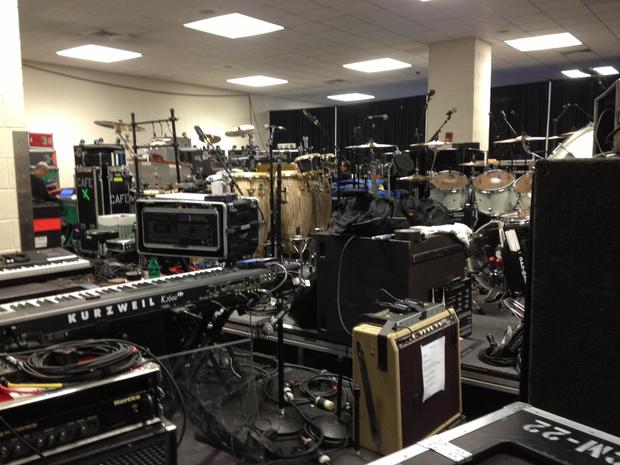 12-12-12 benefit concert: Behind the scenes