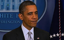 "Obama calls for ""perspective"" from Congress following tragic week"