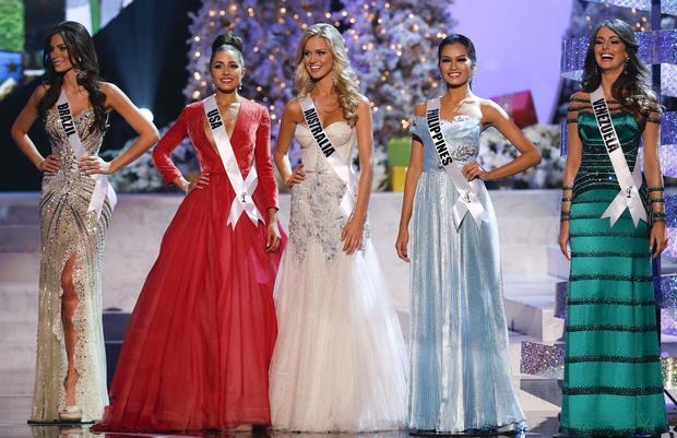 Miss USA crowned Miss Universe 2012