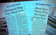 Merck warns doctors don't prescribe Tredaptive
