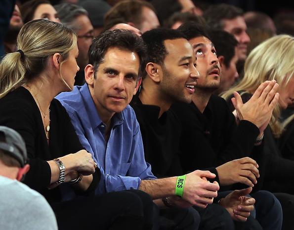 Celebrity sports fans