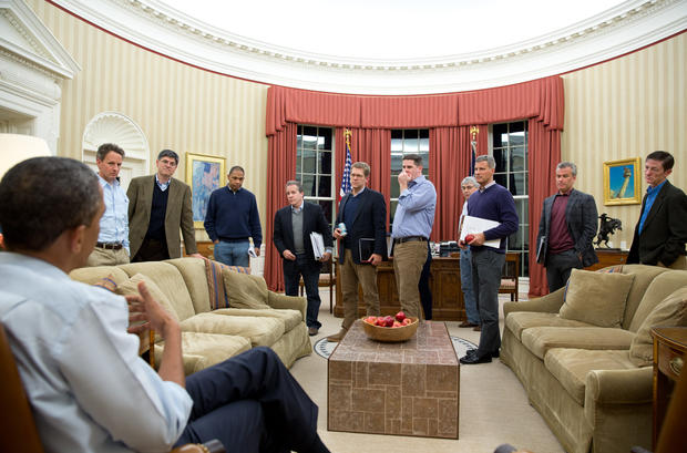 Most iconic White House photos of 2012
