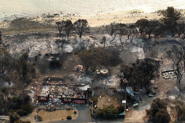 Wildfires rage across Australia