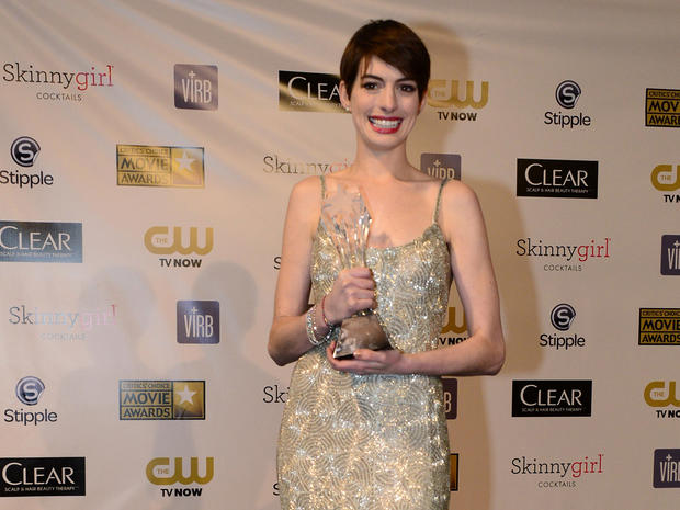 Critics' Choice Movie Awards 2013 press room