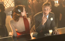 "Ryan Gosling, Emma Stone reunite in ""Gangster Squad"""