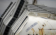 The Costa Concordia, one year later
