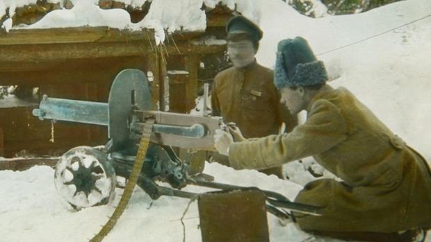Rare color photos of World War I