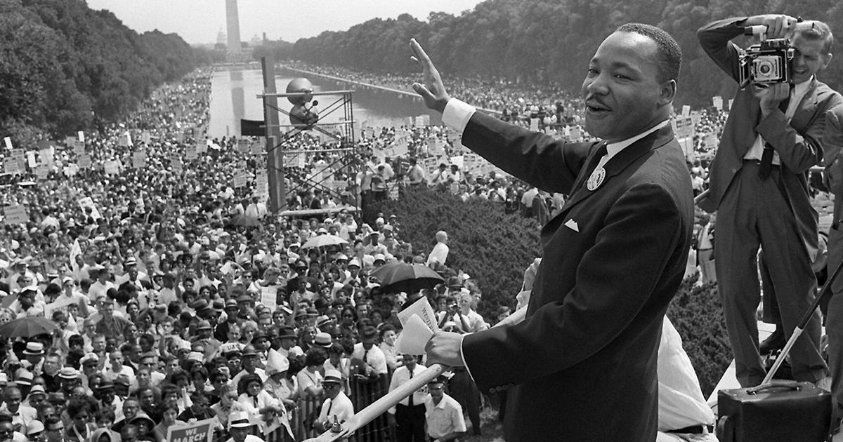 irony in i have a dream speech