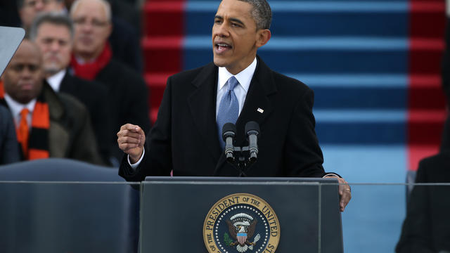 Obama's inaugural speech addresses challenges ahead