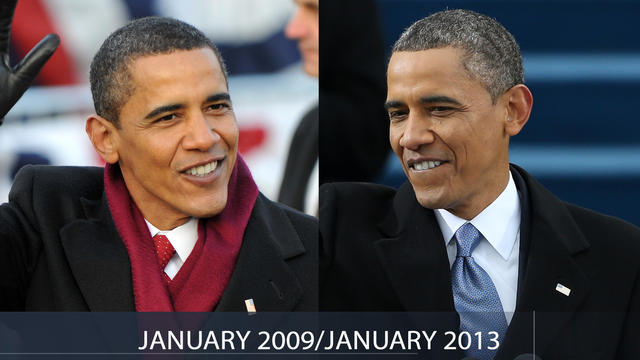 Obama: How he's aged