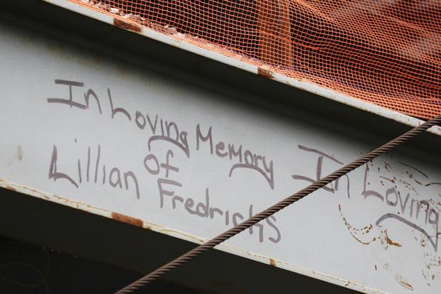 World Trade Center graffiti
