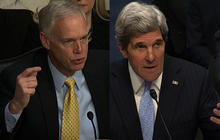 Kerry, Johnson get heated over Benghazi attack