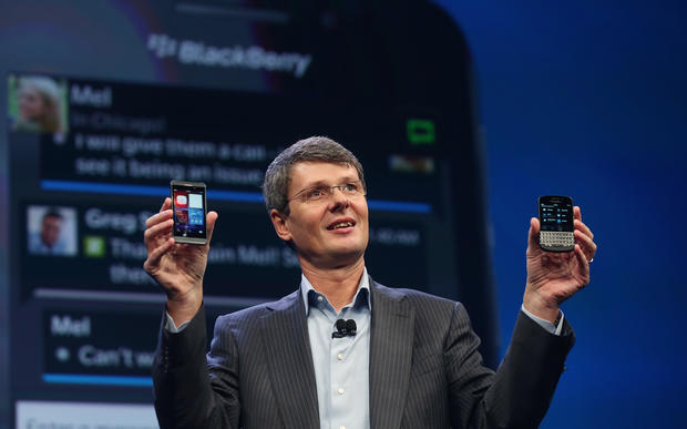 BlackBerry unveils new phones