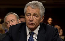 Hagel disappoints WH at hearing, Schieffer says
