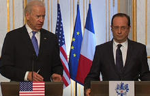 "Biden hails France's ""decisive action"" in Mali"