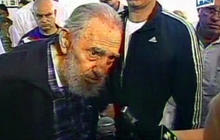 Fidel Castro votes in parliamentary elections