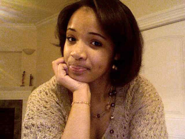 Hadiya Pendleton, 15 and of Chicago, is seen in this undated family photo provided by Damon Stewart.